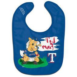 Texas Rangers Lil' Fan All Pro Baby Bib