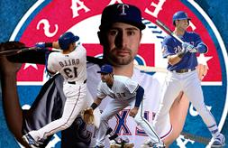Texas Rangers Lithograph print of  Joey Gallo 17 x 11