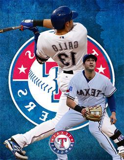 Texas Rangers Lithograph print of  Joey Gallo