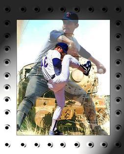 Texas Rangers Lithograph print of  Nolan Ryan 13x 19