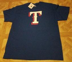 Texas Rangers Logo T-Shirt MLB Genuine Merchandise Men's XL