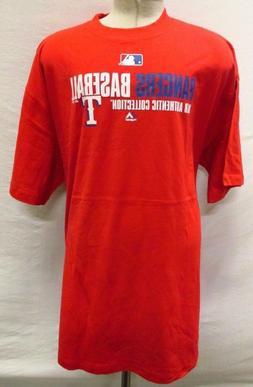 Texas Rangers MLB Men Big & Tall Fan Favorite Graphic T-Shir