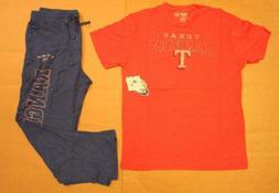 Texas Rangers Men's Concepts Sport MLB Sleepwear T-Shirt & P
