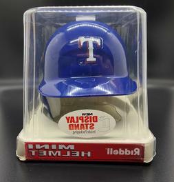 TEXAS RANGERS Riddell MINI Baseball Batter's Helmet NIB - Fr