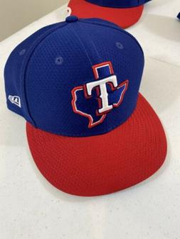New Era Texas Rangers MLB 59Fifty Big Logo Red Blue Fitted H