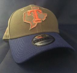 Texas Rangers New Era MLB 9FORTY Cap Hat Adjustable Graphite