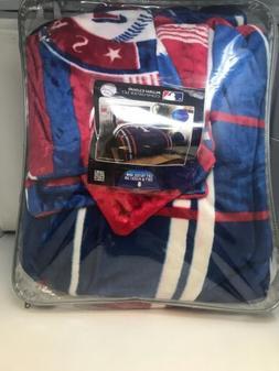 Texas Rangers MLB Baseball Full Queen Size Bed Comforter Pil