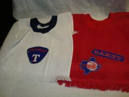 Texas Rangers MLB Baseball Handmade/Tea Towel Children's/Bab