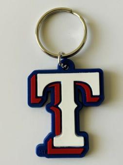 TEXAS RANGERS MLB BASEBALL KEYCHAIN KEYRING TEAM DECAL LOGO