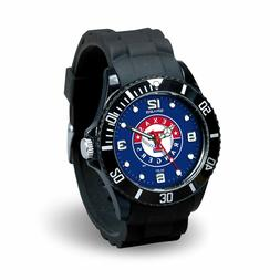 Texas Rangers MLB Baseball Team Men's Black Sparo Spirit Wat
