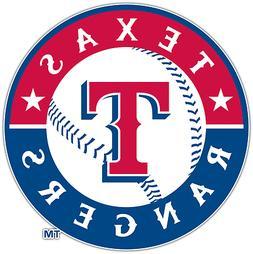 Texas Rangers MLB Baseball Vinyl Car Bumper Window Sticker D