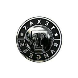 Texas Rangers MLB Chrome 3D Auto Plastic Car Truck Emblem De