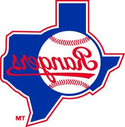 Texas Rangers MLB Color Die-Cut Decal / Sticker *Free Shippi