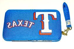 Texas Rangers, MLB  Distressed Wallet, Smartphone, Wristlet