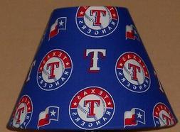 Texas Rangers MLB fabric lamp shade sports Handmade Desk Tab