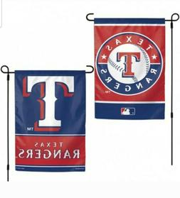 Texas Rangers MLB Garden Flag Double Sided wincraft Licensed