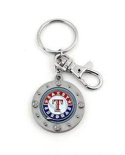 Texas Rangers MLB Impact Keychain