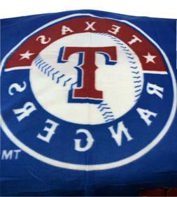 Texas Rangers MLB Insiders Club Licensed Baseball Plush Blan