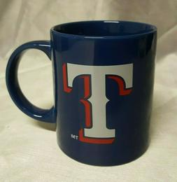 Texas Rangers MLB Licensed FC Rally 11 oz Coffee Tea Mug Blu