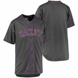 Texas Rangers MLB Men's Charcoal Fashion Big & Tall Team Jer