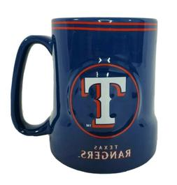 Texas Rangers Boelter MLB Relief Blue Coffee Mug 18 oz New