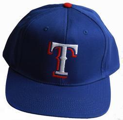 Texas Rangers MLB Snapback Adjustable Hat, Blue + Includes G