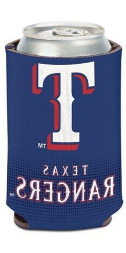 Texas Rangers MLB Stadium Can Cooler Holder Bottle Neoprene