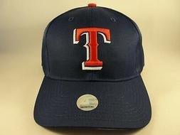 Texas Rangers MLB Vintage Snapback Hat Cap Blue