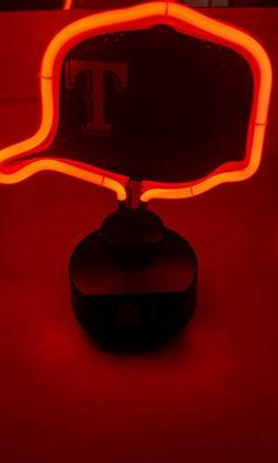 Texas Rangers NEON Lamp-New