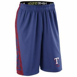 Texas Rangers NIKE Speed Fly Shorts M L XL XXL Baseball Bask