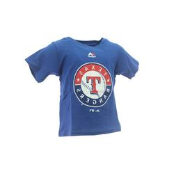 Texas Rangers Official MLB Majestic Apparel Baby Infant Size