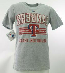 Texas Rangers Official MLB Majestic Apparel Kids Youth Size