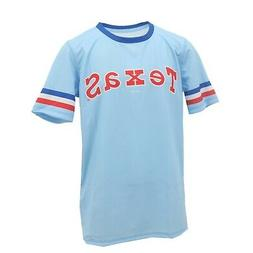 Texas Rangers Official MLB Apparel Kids Youth Size Jersey-St