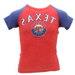 Texas Rangers Official MLB Genuine Apparel Kids Youth Girls
