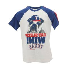 Texas Rangers Official MLB Genuine Apparel Kids Youth Size T