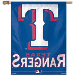 TEXAS RANGERS ~ Official MLB Outdoor House Flag Banner ~ New