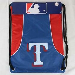 "Texas Rangers Officially Licensed MLB Back Sack 18"" x 13"""