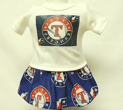 Texas Rangers Outfit For 18 Inch Doll