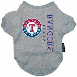 Texas Rangers Pet Dog Tee Shirt
