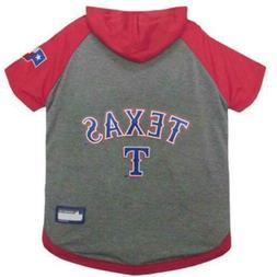 Texas Rangers MLB Pet Dog GameDay Hoodie T-Shirt Jersey