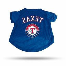 Texas Rangers Sparo Pet T-Shirt - Blue