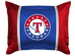 Texas Rangers Pillow Sham Jersey Style MLB Baseball Bedding