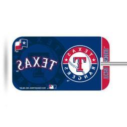 Texas Rangers Plastic Luggage Tag Bag Identification Basebal