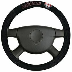 Texas Rangers Poly-Suede Steering Wheel Cover