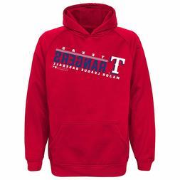 Texas Rangers Majestic Polyester Youth Boys Sweatshirt Hoodi