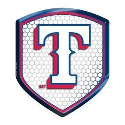 Texas Rangers Reflector Decal MLB Auto Shield Team Logo Car