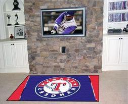 Texas Rangers Rug 5'x 8'