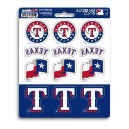 Texas Rangers - Set Of 12 Sticker Sheet