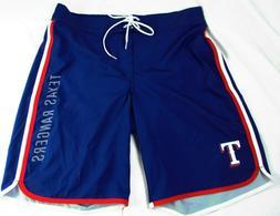 Texas Rangers Sox G-III Men's MLB Blue Bathing Suit with Inn