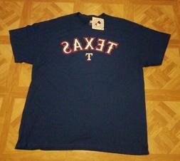 Texas Rangers T-Shirt Official MLB Genuine Merchandise Men's